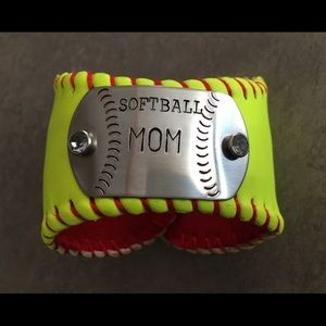 Jewelry - Softball Cuff Bracelet